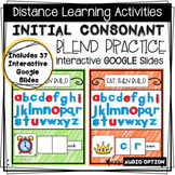 Distance Learning: Consonant Blend Practice - Interactive