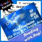 Context Clues Google Forms Reading Comprehension Using Par