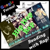 Context Clues Google Forms Reading Comprehension Using Rap Song