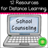 Distance Learning School Counseling Bundle
