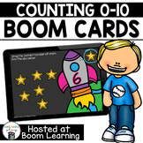 Distance Learning- Counting 0 to 10 Boom Cards Boom Deck