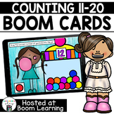 Distance Learning- Counting 11 to 20 Boom Cards Boom Deck