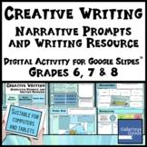 Distance Learning - Creative Narrative Writing -  Digital