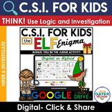 Digital CSI | Crime Scene Investigation | Winter Activities | Making Inferences