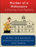 Distance Learning Critical Thinking Mystery: Millionaire M