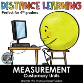 Distance Learning - Customary Units of Measurement Digital