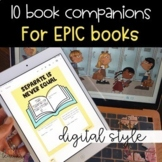 Distance Learning DIGITAL Book Companions for EPIC books