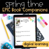 Distance Learning DIGITAL Book Companions for EPIC books | Spring