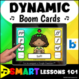 DYNAMICS BOOM CARDS™ Music Distance Learning Music Activity Google Classroom™