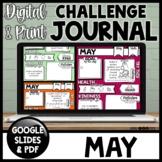 Health & Kindness Daily Journal | May Journal | Google & Printable