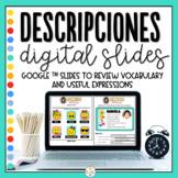 Distance Learning - Descriptions in Spanish - Descripciones