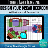 Distance Learning: Design Your Dream Bedroom with Area and Perimeter