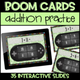 Distance Learning Digital Boom Cards Daily Addition Practice!