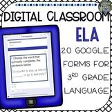 Digital Classroom 3rd Grade ELA Language