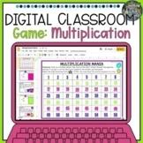 Digital Classroom Multiplication Game