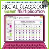 Distance Learning Digital Classroom Multiplication Game
