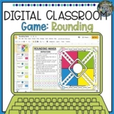 Distance Learning Digital Classroom Rounding Game