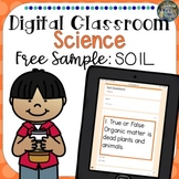 Distance Learning Digital Classroom Science Soil