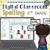 Distance Learning Digital Classroom Second Grade Spelling