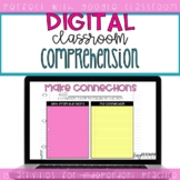 Distance Learning Digital Comprehension Activities