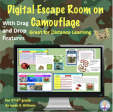 Distance Learning Digital Escape Room and Reading Passages