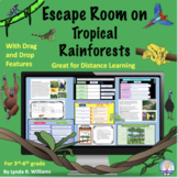 Distance Learning Digital Escape Room on Tropical Rainforests