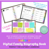 Distance Learning Digital Family Biography / Interview Boo
