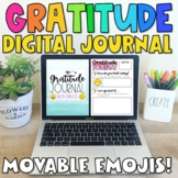 Distance Learning Digital Gratitude Journal