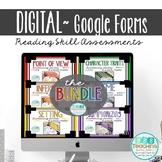 Distance Learning Digital Listening Quiz Reading Skill Bundle
