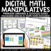 Digital Math Manipulatives & Math Mats   Google Slides Rea