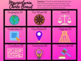 Distance Learning: Digital Mesopotamia Choice Board Menu Project