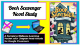Distance Learning Digital Novel Study Packet in Google Sli