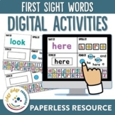 Sight Word Digital Activity Pack