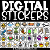 Digital Stickers for Google™ Classroom Distance Learning &