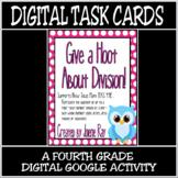 TEKS 4.4E / Distance Learning Digital Task Cards: Division