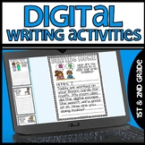 Daily Writing Activities for Google Slides Freebie
