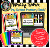 Distance Learning Digital and Printable School Memory Book