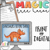 Distance Learning  Dinosaurs Before Dark Bundle Magic Tree House