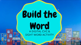 Distance Learning Drag & Drop Word Family & Sight Word Spelling Google Classroom