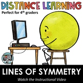 Distance Learning - Drawing Lines of Symmetry