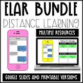 Distance Learning Growing Language Arts Bundle