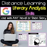 Distance Learning ELA Skills for Literature   Use with Any