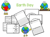 Distance Learning Earth Day Reading & Writing Activity w/