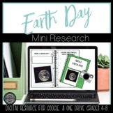 Earth Day Short Research Project - Digital Activities
