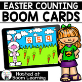 Distance Learning- Easter Counting Boom Cards Deck