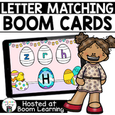 Distance Learning- Easter Letter Matching Boom Deck for Pr