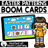 Distance Learning- Easter Patterns Boom Cards Deck