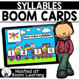 Distance Learning- Easter Syllables Boom Cards Deck