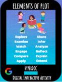 Distance Learning: Elements of Plot Hyperdoc / Digital Int