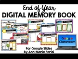 Distance Learning End of Year Digital MEMORY BOOK